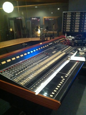 Neve desk at Canterbury Music