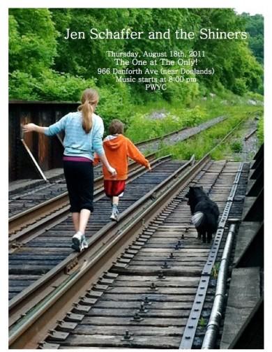 Aug 18th Gig Poster