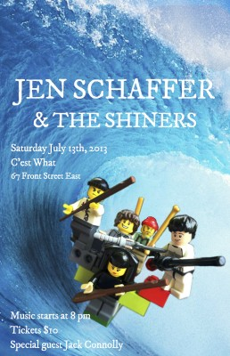 july gig poster 2013