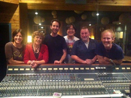 Jeremy, Jen and the Shiners - and the Neve